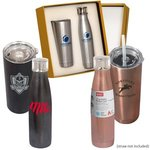 BUILT (TM) Duo Vacuum Bottle Gift Set -