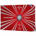 Buy Callaway Custom Golf Balls Chrome Soft Std Serv