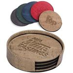 Casablanca Cork Round Coaster Set -