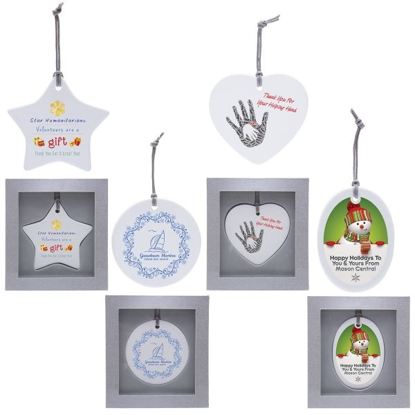 Main Product Image for Personalized Ornament Ceramic Ornament