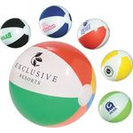 Buy Custom Imprinted Classic Beach Ball 10 1/2in