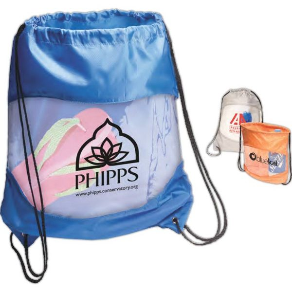 Main Product Image for Clear-View Drawstring Bag
