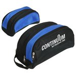 Buy Custom Imprinted Toiletry Bag Coastal with Zipper Access