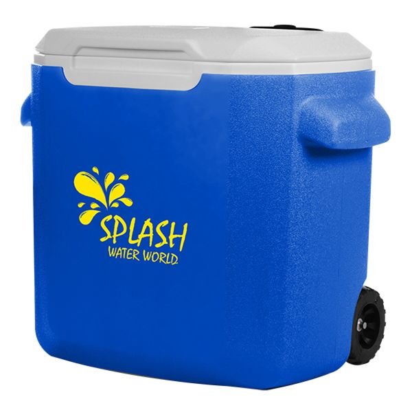 Main Product Image for Custom Imprinted Coleman (R) 28-Quart Wheeled Cooler