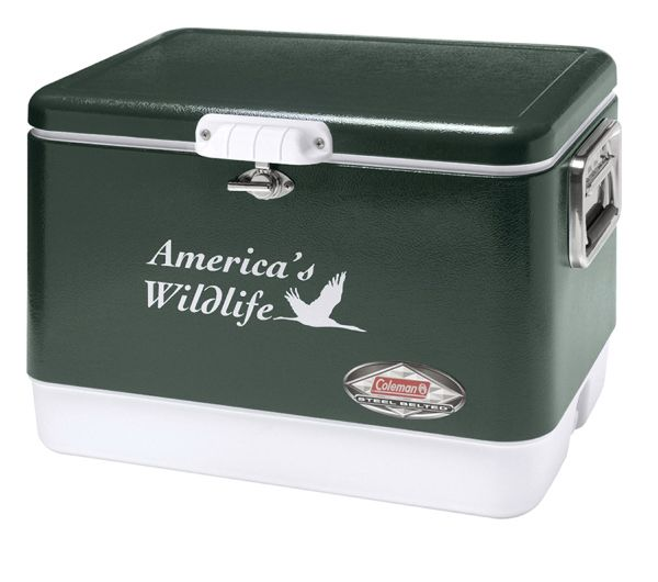 Main Product Image for Custom Imprinted Coleman (R) 54-Qt Classic Steel Belted Cooler