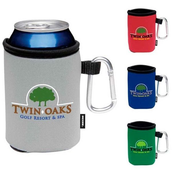 Main Product Image for KOOZIE (R) Collapsible Can Kooler with Carabiner