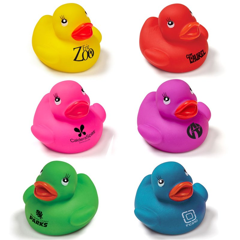Main Product Image for Colorful Rubber Duck Toy
