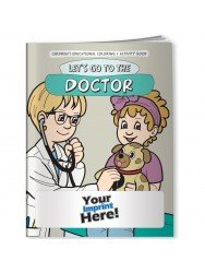 Main Product Image for Coloring Book - Let's Go to the Doctor