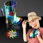 Buy Light Up Cowboy Boot Shaped Cup 16 oz