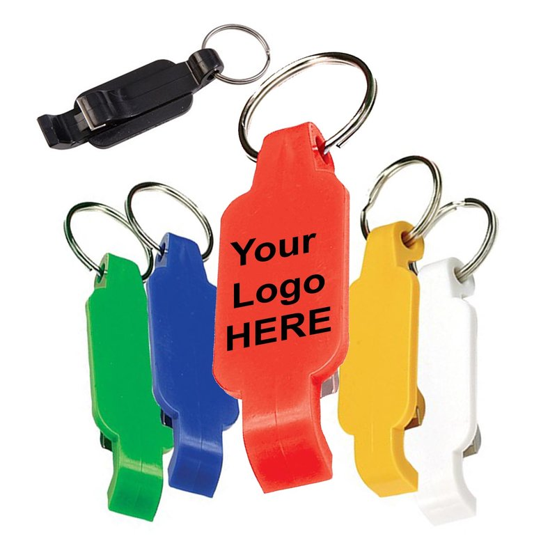 Main Product Image for Custom Imprinted Key Chain with Bottle Opener