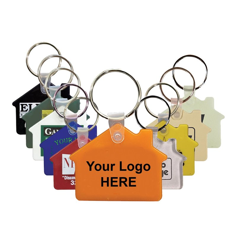 Main Product Image for Custom Imprinted Key Tag Fob House