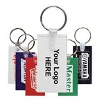 Custom Imprinted Key Tag Fob Rectangle -