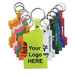 Custom Imprinted Key Tag Number One -