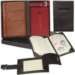 Buy Custom Imprinted Luggage Tag and Passport Set Leeman New York