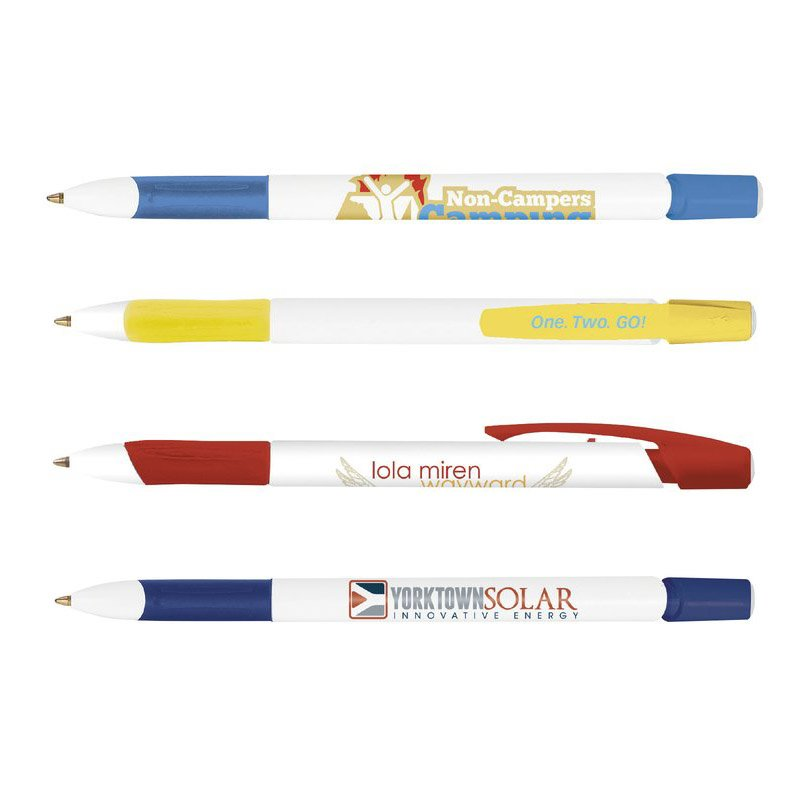 Main Product Image for Custom Imprinted Pen - BIC Media Clic Grip Pen