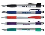 Buy Custom Imprinted Pen - Portos - Ballpoint with stylus on end