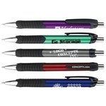 Buy Custom Imprinted Pen - Servata Metallic with XL Imprint area