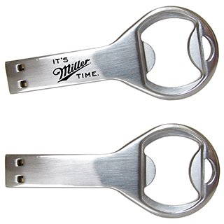 Main Product Image for Custom Printed Bottle Opener USB Milwaukee 4GB