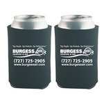 Custom Printed Foam Can Koozie -