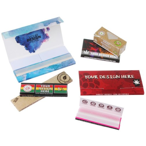Main Product Image for Custom Rolling Papers (Single Width)