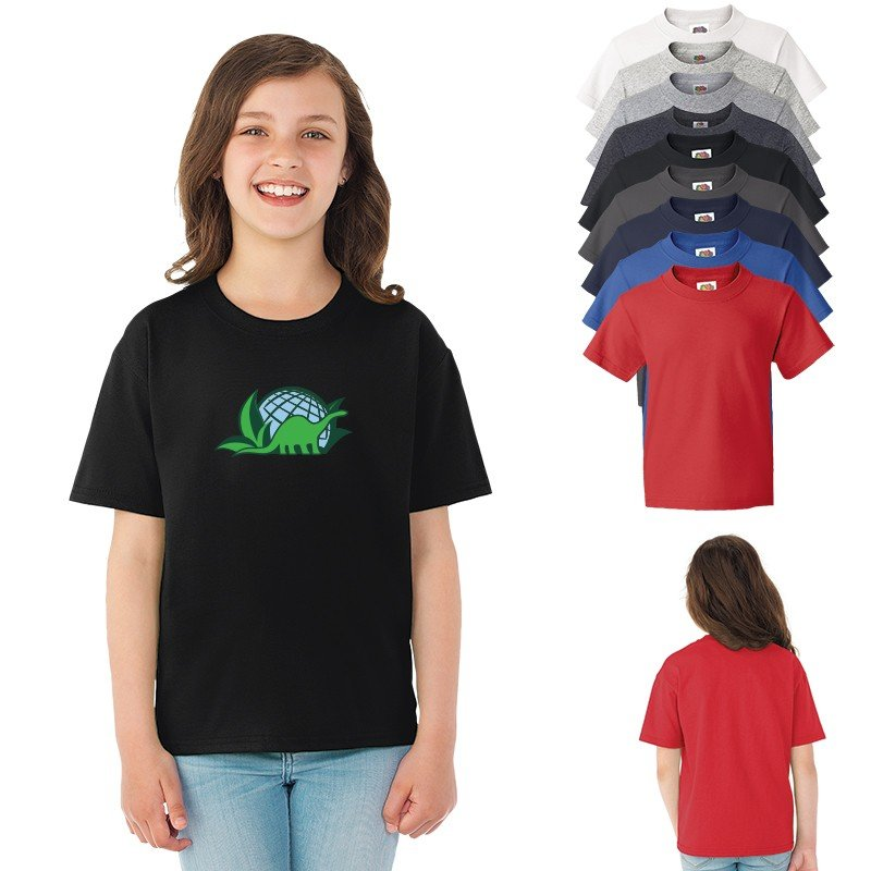Main Product Image for Custom T Shirt Design FOTL Youth HD Cotton 100% Cotton T Shirt.