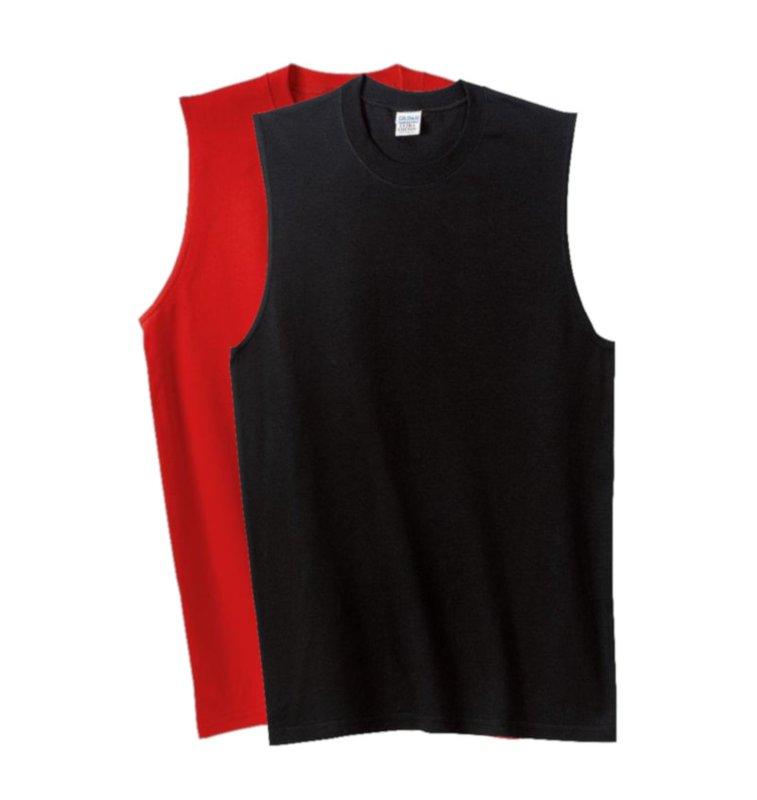 Main Product Image for Custom T Shirt Design Gildan - Ultra Cotton Sleeveless T Shirt.