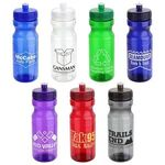 Buy Cycler 24oz PET Eco-Polyclear(TM) Bottle with Push-Pull Lid