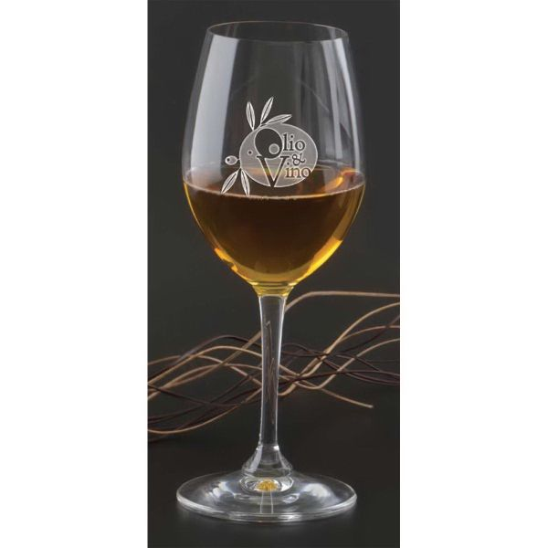 Main Product Image for Wine Glass Custom Etched Degustazione White Wine Glass 12 oz