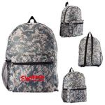 Buy Custom Imprinted Backpack Digital Camouflage with Zipper Closure