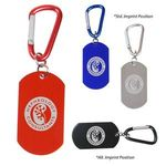 Buy Dog Tag on Carabiner
