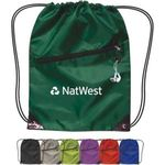Buy Drawstring Backpack With Zipper