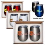 Buy Duo Vacuum Stemless Wine Tumbler Gift Set