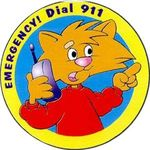 Buy Emergency Dial 911 Sticker Rolls