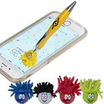 Buy Custom Imprinted Pen -Emoti MopTopper(TM) Pen w/ Screen Cleaner