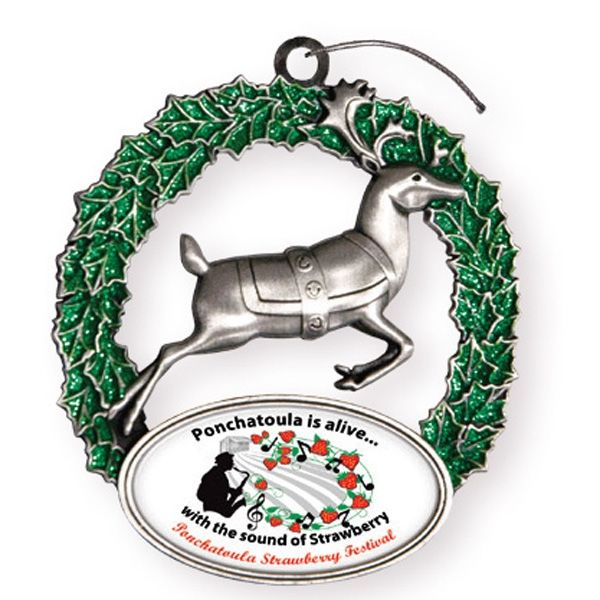 Main Product Image for Express Reindeer Holiday Ornament