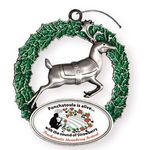 Express Reindeer Holiday Ornament -
