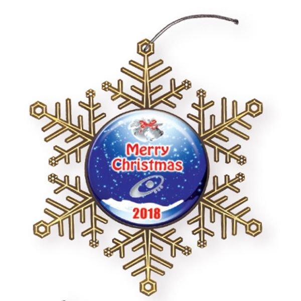 Main Product Image for Express Snowflake Holiday Ornament