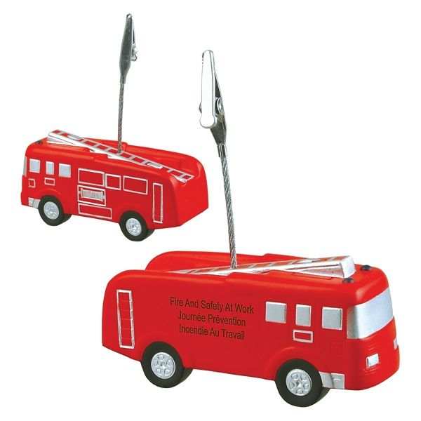 Main Product Image for Fire Truck Stress Reliever Memo Holder