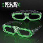 Buy Custom Sunglasses Flashing LED 80S Style Shades