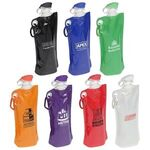 Buy Flip Top Foldable Water Bottle with Carabiner