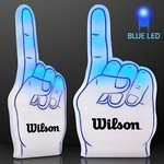Buy Foam Finger Light Up Blue #1