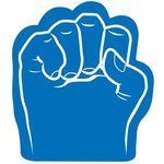Foam Fist Hand - Blue
