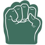 Foam Fist Hand - Dark Green