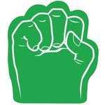 Foam Fist Hand - Green