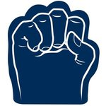 Foam Fist Hand - Navy