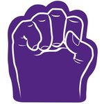 Foam Fist Hand - Purple