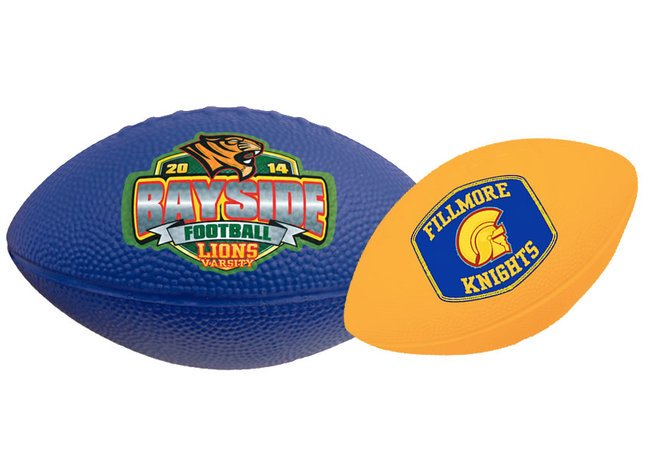 Main Product Image for Foam Footballs Solid Color -7""