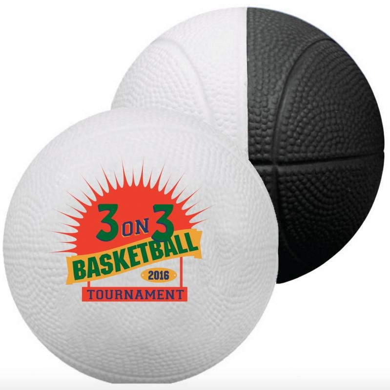 Main Product Image for Foam Mini Basketballs - Two Toned Colors 4""