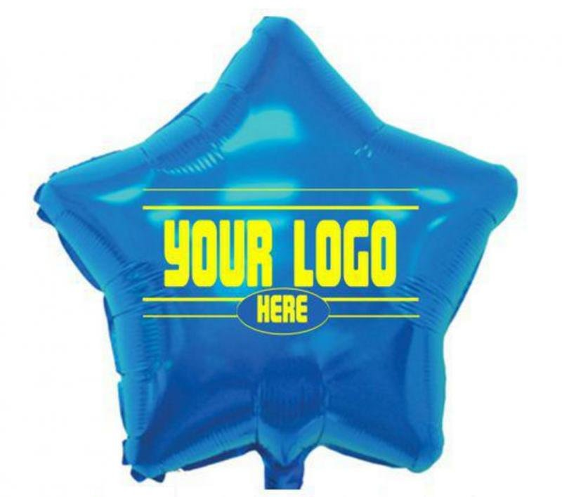 Main Product Image for Foil Balloons Star Shape 17""