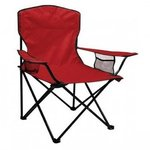 Folding Chair with Carrying Bag - Red